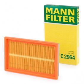 IMPREZA Schrägheck (GR, GH, G3) MANN-FILTER Luftfilter C 2964