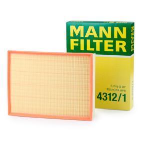 CRAFTER 30-50 Kasten (2E_) MANN-FILTER Luftfilter C 4312/1