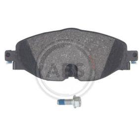 A.B.S. Kit de plaquettes de frein, frein à disque 5Q0698151D pour VOLKSWAGEN, AUDI, SEAT, SKODA acheter