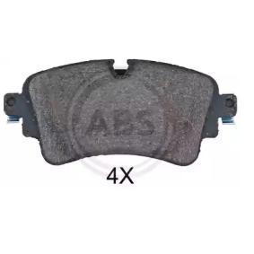 A.B.S. 35114 Kit de plaquettes de frein, frein à disque OEM - 8W0698451N AUDI, SEAT, SKODA, VW, VAG, AUDI (FAW) à bon prix