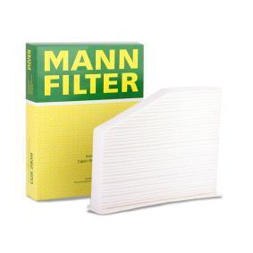 Filter, kupéventilation | MANN-FILTER Artikelnummer: CU 2939