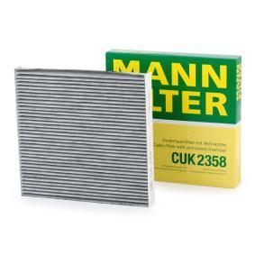 MANN-FILTER Filtro de aire acondicionado CUK 2358