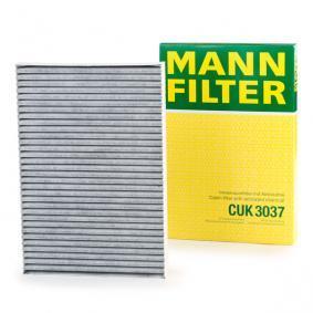 8E0819439C für VW, AUDI, SKODA, SEAT, HONDA, Filter, Innenraumluft MANN-FILTER (CUK 3037) Online-Shop