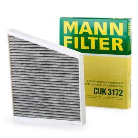 Filter, Innenraumluft MANN-FILTER Art.No - CUK 3172 OEM: A2118300018 für MERCEDES-BENZ, SMART, MAYBACH kaufen
