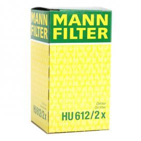 MANN-FILTER OPEL ASTRA Filtro de combustible (HU 612/2 x)