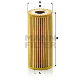MANN-FILTER Ölfilter (HU 615/3 x) niedriger Preis