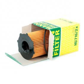 MANN-FILTER Oil filter HU 716/2 x