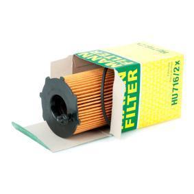 Brazo del limpiaparabrisas lavado de parabrisas HU 716/2 x MANN-FILTER