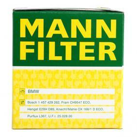 MANN-FILTER Ölfilter HU 815/2 x