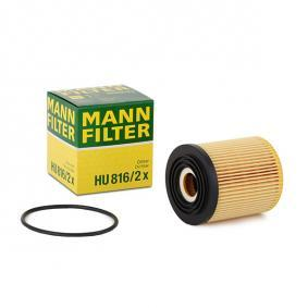MANN-FILTER Filtro aire habitáculo HU 816/2 x