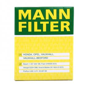 MANN-FILTER Ölfilter HU 820 x