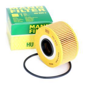 MANN-FILTER Nebelscheinwerfer Einzelteile HU 920 x