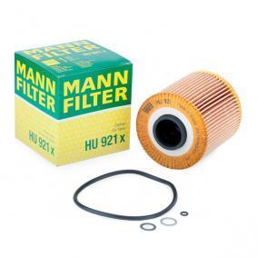 11421709865 für BMW, MINI, ALPINA, Ölfilter MANN-FILTER (HU 921 x) Online-Shop