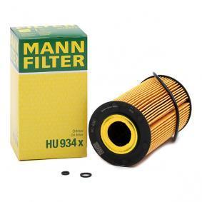 6281800009 für MERCEDES-BENZ, Ölfilter MANN-FILTER (HU 934 x) Online-Shop
