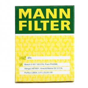 Brazo de limpiaparabrisas MANN-FILTER (W 610/1) para SUZUKI SWIFT precios