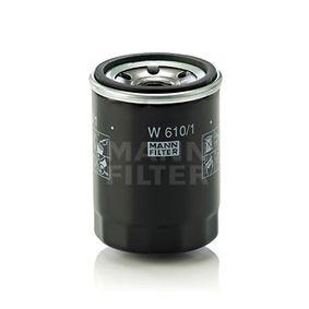 Brazo de limpiaparabrisas (W 610/1) fabricante MANN-FILTER para SUZUKI SWIFT III (MZ, EZ) año de fabricación 05/2006, 125 CV Tienda online
