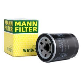 MUSA (350) MANN-FILTER Puleggia cinghia alternatore W 610/3