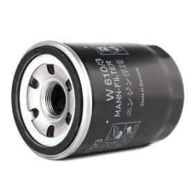 MANN-FILTER Dispositivo ruota libera alternatore W 610/3
