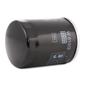 MANN-FILTER Pezzo per fissaggio, imp. gas scarico (W 610/3)