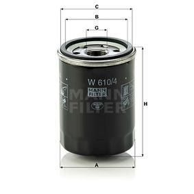 MANN-FILTER Διακόπτης μηχανής W 610/4