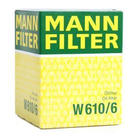 MANN-FILTER HONDA CIVIC Poly v-belt kit (W 610/6)