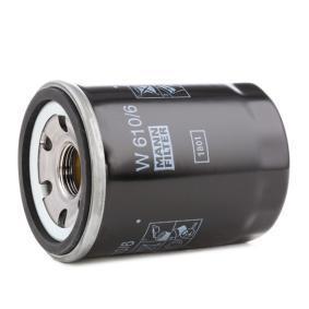 MANN-FILTER Filtro de aceite W 610/6