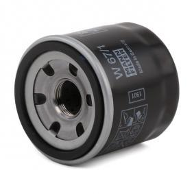 Oil filter (W 67/1) producer MANN-FILTER for MAZDA 2 (DY) year of manufacture 04/2003, 111 HP Online Shop