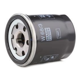 MANN-FILTER Wiper blade rubber W 68/3