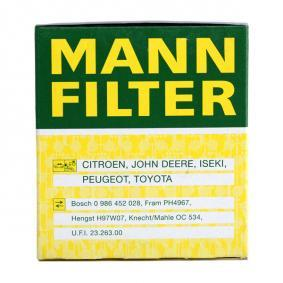 Wiper blade rubber MANN-FILTER (W 68/3) for TOYOTA RAV 4 Prices
