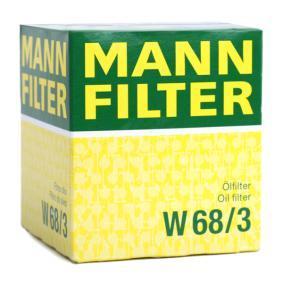 MANN-FILTER TOYOTA COROLLA Cables de bujías (W 68/3)