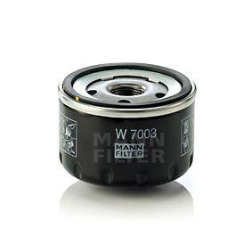 MANN-FILTER Filtro recirculación de gases (W 7003)