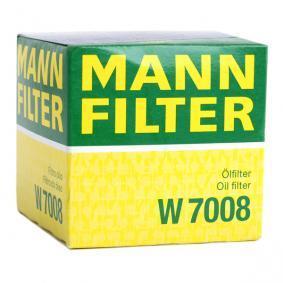 MANN-FILTER FORD FOCUS Brazo de limpiaparabrisas (W 7008)