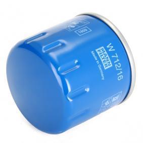 60621830 für FIAT, ALFA ROMEO, LANCIA, Ölfilter MANN-FILTER (W 712/16) Online-Shop