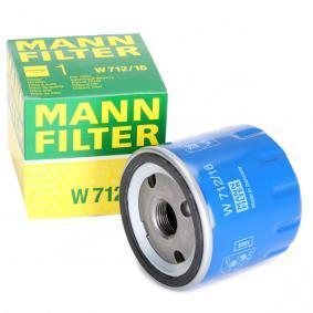 MANN-FILTER W 712/16 Ölfilter OEM - 71736159 ALFA ROMEO, FIAT, LANCIA, ALFAROME/FIAT/LANCI günstig