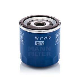 MANN-FILTER Ölfilter (W 712/16) niedriger Preis