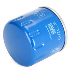 60621890 for FIAT, ALFA ROMEO, LANCIA, Oil Filter MANN-FILTER (W 712/16) Online Shop