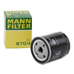 748620 pour FORD, Filtre à huile MANN-FILTER (W 712/4) Boutique en ligne