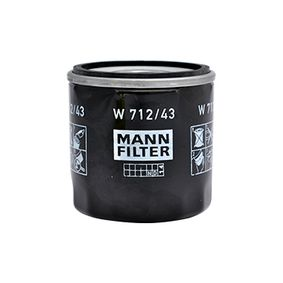 5008720 für FORD, Ölfilter MANN-FILTER (W 712/43) Online-Shop