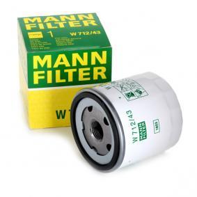 MANN-FILTER Filtre à huile 7701415053 pour RENAULT, DACIA, RENAULT TRUCKS, SANTANA acheter