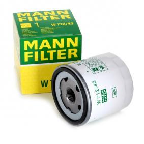 MANN-FILTER Filtre à huile 5020700025 pour VOLKSWAGEN, AUDI, SEAT, HONDA, SKODA acheter