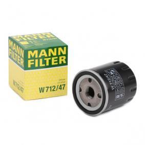 7700720978 für FORD, RENAULT, DACIA, CHRYSLER, FORD USA, Ölfilter MANN-FILTER (W 712/47) Online-Shop