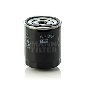MANN-FILTER Ölfilter W 712/54