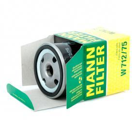 MANN-FILTER Комплект зъбен ремък W 712/75