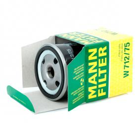 MANN-FILTER Filtro de combustible W 712/75