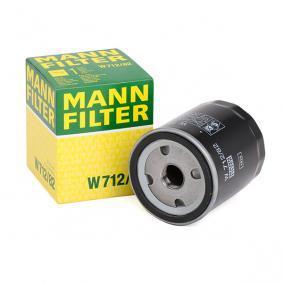 Focus II Berlina (DB_, FCH, DH) MANN-FILTER Brazo de limpiaparabrisas W 712/82
