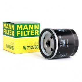 90915YZZJ4 für TOYOTA, LEXUS, WIESMANN, Ölfilter MANN-FILTER (W 712/83) Online-Shop