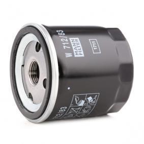 MANN-FILTER Sistema de ventilación del cárter W 712/83
