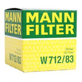 MANN-FILTER TOYOTA YARIS Sistema de ventilación del cárter (W 712/83)