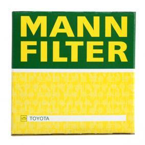 Sistema de ventilación del cárter MANN-FILTER (W 712/83) para TOYOTA YARIS precios
