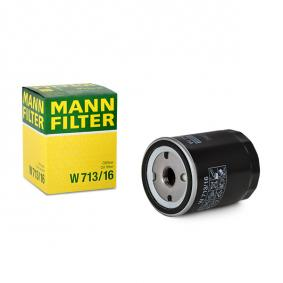 50008507 for FIAT, ALFA ROMEO, LANCIA, Oil Filter MANN-FILTER (W 713/16) Online Shop